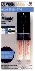 Epoxy 5 Minute Cement Dev-Tube 1oz