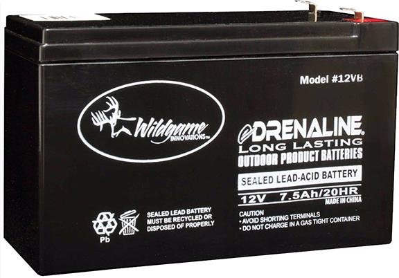 Wildgame 12v E Drenaline Battery