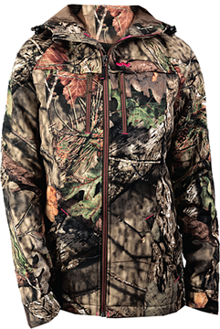 Womens Insulated Parka Mossy Oak Country Large