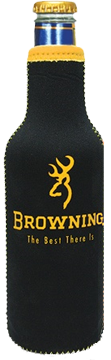 Browning 12oz Black & Yellow Bottle Cooler