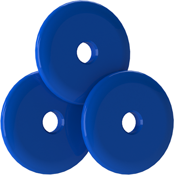 Bee Stinger Freestyle Weights Blue 1 oz 3 pk