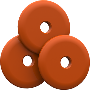 Bee Stinger Freestyle Weights Orange 1 oz. 3 pk.