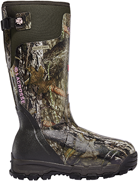 LaCrosse Women Alpha Burly Pro Boot 1600g Mossy Oak Country 9
