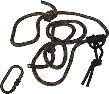 Summit Linesmans Rope 8 ft. w/Carabiner