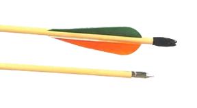 "Cedar Target Arrows 11/32"" 50#"