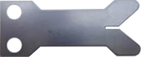 Hamskea Wide Launcher Blade Stainless Steel .012