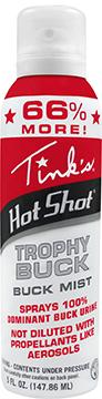 * Tinks Hot Shot Mist Trophy Buck 5 oz.