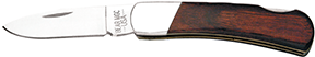 Bear and Son Executive Lockback Rosewood 3 in.