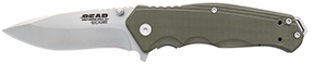 Bear and Son G10 Sideliner OD Green 4 1/2 in.