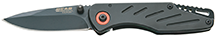 Bear and Son Frame Lock Knife Black 3 3/8 in.