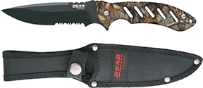 Bear and Son Brisk 1.0 Fixed Mossy Oak Country  9 3/4 in.
