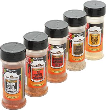 Can Cooker Seasoning Sampler Pack