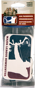 Major League Bowhunter Vanilla Air Freshener