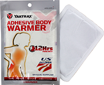 Yaktrax Adhesive Body Warmers 40 pair