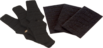 QAD Replacment Felt Kit Black