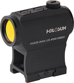Holosun Red Dot Sight 20mm Motion Sensor with Tray
