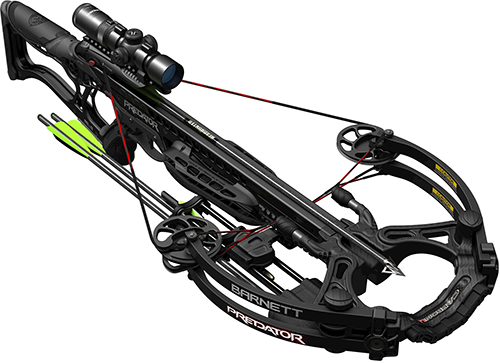 18 Barnett Predator Crossbow Pkg w/1.5x5 Illuminated Scope