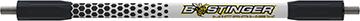 Bee Stinger MicroHex V-Bar Black/White 12 in.