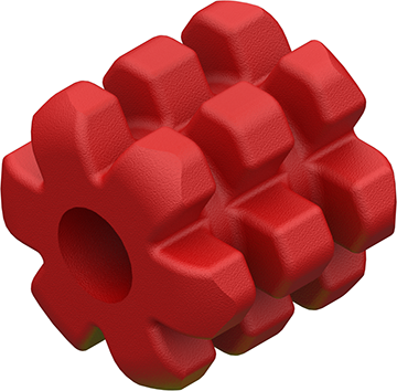 Bee Stinger MicroHex Damper Red