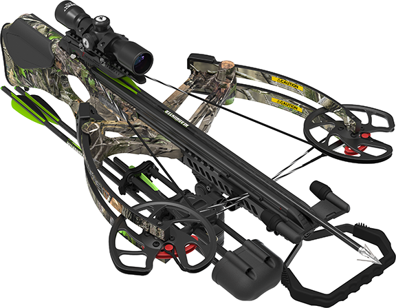 18 BC Revengeance Crossbow Pkg w/4x32 Illuminated Scope
