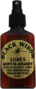 Black Widow Hot n Ready Northern Estrus 3oz