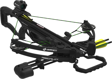 16 Recruit Compound Crossbow Package w/Red Dot Scope
