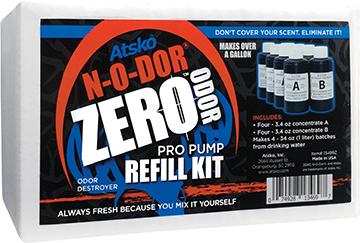 Atsko Zero N-O-Dor Oxidizer Pro Pump Refill Kit