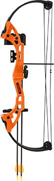 Bear Brave Bow Set Orange 13.5-19in. 15-25lbs. RH