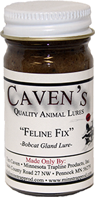 Cavens Feline Fix Bobcat Lure 1 oz.