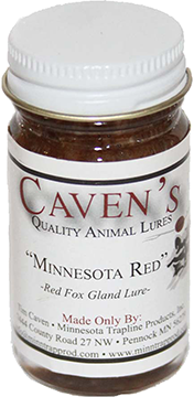 Cavens Minnesota Red Foxe Lure 1 oz.