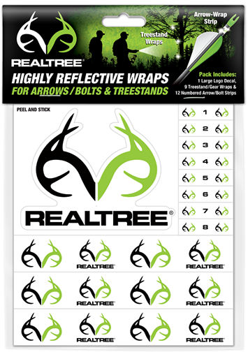 C-EZ R/T Numbered Reflective Arrow and Treestand Wrap