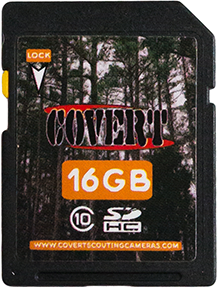 Covert SD Memory Card 16 GB
