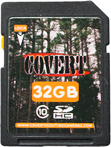 Covert SD Memory Card 32 GB