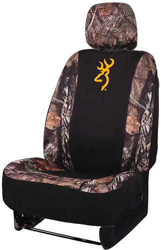 Browning Neoprene Seat Cover Low Back Mossy Oak Country