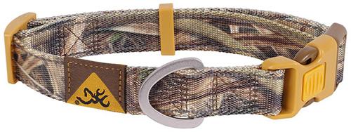 Browning Classic Webbing Collar Mossy Oak Blades Medium