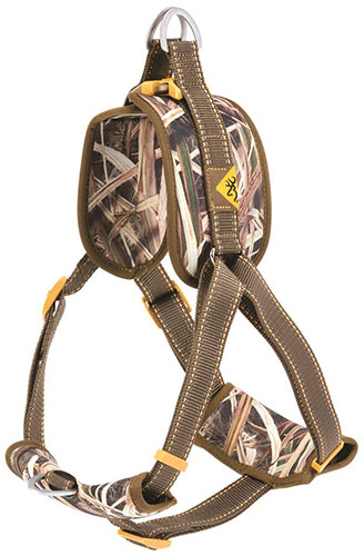 Browning Walking Harness Teak/Mossy Oak Blades Medium