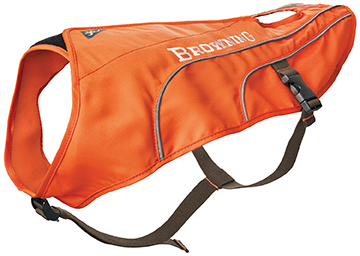 Browning Dog Safety Vest Orange Medium