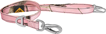 Browning Classic Webbing Leash Realtree Xtra Pink Large