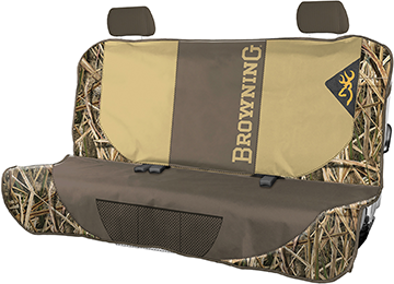 Browning Bench Seat Cover Mossy Oak Blades
