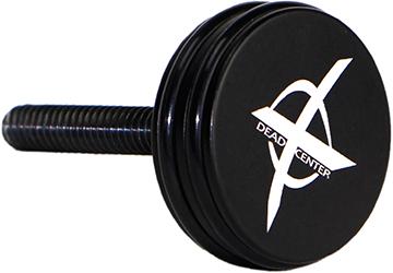 Dead Center Weight End Cap Aluminum 1 oz. Black