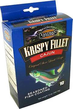 Eastman Outdoors Krispy Fillet Cajun