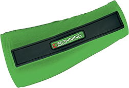 Bohning Slip On Armguard Large Neon Green