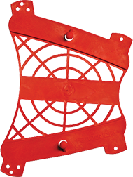 Web Armguard Red