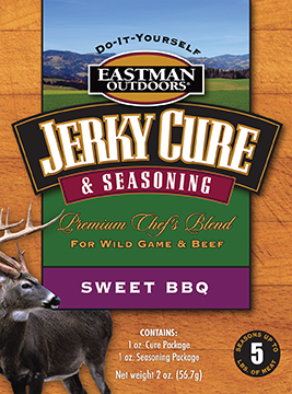 Eastman Outdoors Jerky Seasoning Sweet BBQ