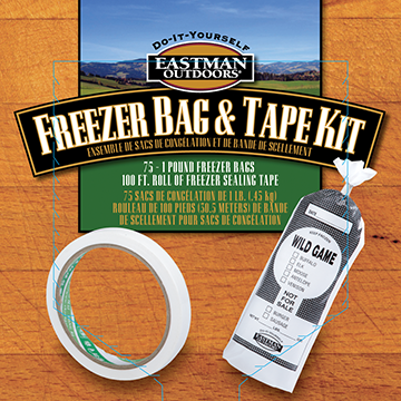 Eastman Outdoors Freezer Bags and Tape Kit