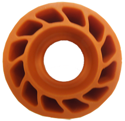 "*M Mathews 3/8"" Damper Body Orange"