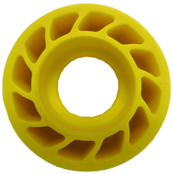 "*M Mathews 3/8"" Damper Body Yellow"