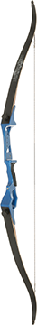 Fin Finder Bank Runner Recurve Blue 58 in. 35 lbs. RH
