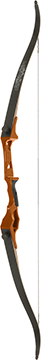 Fin Finder Bank Runner Recurve Orange 58 in. 35 lbs. RH