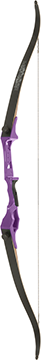 Fin Finder Bank Runner Recurve Purple 58 in. 35 lbs. RH